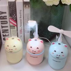 Máy phun sương tạo ẩm mini HUMIDIFIER 3IN1 – Hình con lợn