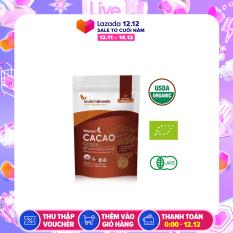 [CHÍNH HÃNG] 01 gói Bột Cacao Peru Criollo Hữu Cơ Organic Nguyên Chất Nguồn Thiên Nhiên (Túi 200g) x 1