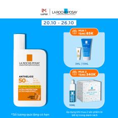 Kem chống nắng dạng sữa lỏng nhẹ không nhờn rít La Roche-Posay Anthelios Invisible Fluid SPF 50+ 50ml