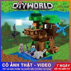 Lego Giá Rẻ 💖 Lego Minecraf My World 💖 Minecaft Nhà Trên Cây 💖 Minecaft 356-5 (1,2,3,4,6) Gồm nhiều mô hình khác nhau, giao hàng ngẫu nhiên các hộp Lego Giá Rẻ Minecaft 356-5 (1,2,3,4,6)