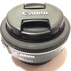 Ống kính máy ảnh Canon EF 40 f2.8 STM màu đen