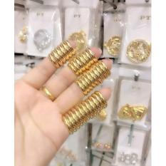 Nhẫn trơn 2 chỉ mạ vàng 24k sang trọng phú quý