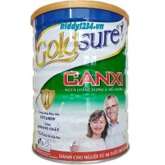 Sữa Goldsure canxi NL ngừa loãng xương tiểu đường 900g