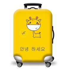 [Lấy mã giảm thêm 30%]Túi bọc bảo vệ vali -Áo vỏ bọc vali – Hươu Cao Cổ H112 Size S M L HPValiOEM