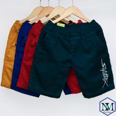 Quần short kaki bé trai 16-40 kg, quần lửng cho bé trai từ 16-40 kg, quần đũi kaki cho bé trai