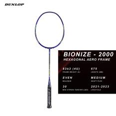 Vợt cầu lông Dunlop Dunlop Bionize 2000 G6 – vợt cân bằng – hàng nhập khẩu chính hãng – tặng kèm cuốn cán, bao đựng vợt