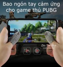 Pubg mobile Bao găng tay chơi game cảm ứng sợi bạc chống rít và mồ hôi cho game thủ