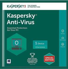 Phần Mềm Diệt Virus Kaspersky Antivirus Cho 1PC