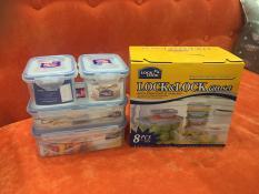 Bộ 4 hộp bảo quản thực phẩm Lock&Lock Classic Gift Set HPL817BF04: giá khuyến mãi