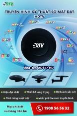 Anten DVB-T2 thông minh ADT17-HD thu sóng truyền hình số mặt đất cực mạnh không cần xoay chỉnh hướng của SDTV