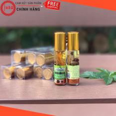 [ Hot Sale ] 1 Dầu Gió Thái Lan Green Herb Oil 8ml Từ Thảo Dược Nhân Sâm – Junsam