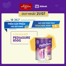 Lon sữa bột Pediasure B/A hương vani 850g