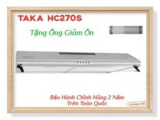 Máy Hút Khử Mùi INOX Cao Cấp TAKA HC270S New 2020