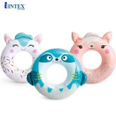 Phao bơi tròn hình thú đáng yêu cho bé INTEX 59266 phao bơi trẻ em, phao bơi tròn cho bé