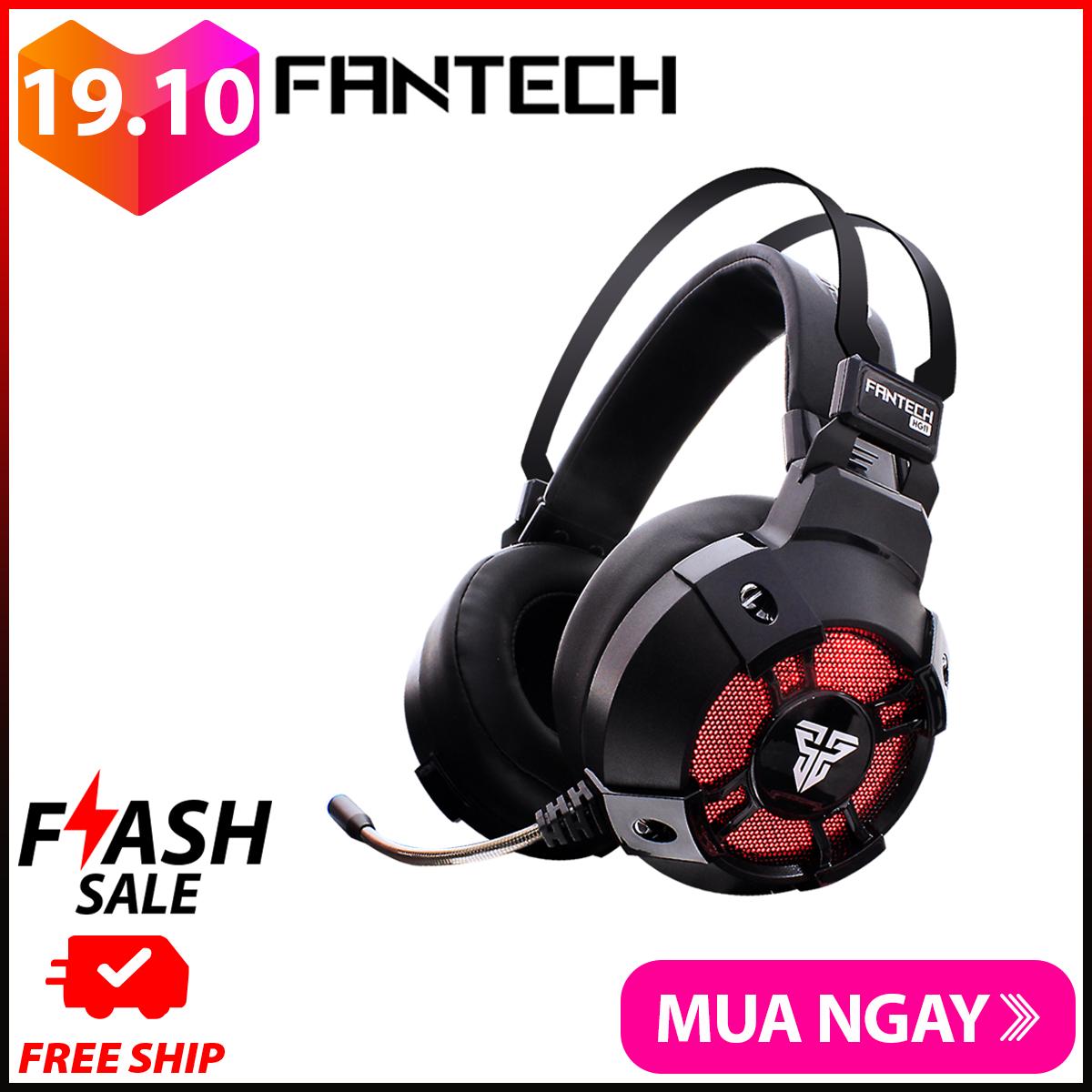 Tai nghe Gaming 7.1 Fantech HG11 CAPTAIN LED RGB Hỗ Trợ Mic Chống Ồn – Hãng Phân Phối Chính Thức