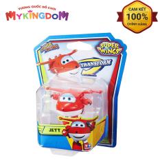MY KINGDOM – Máy bay biến hình robot mini Jett Tia Chớp SUPER WINGS YW710010