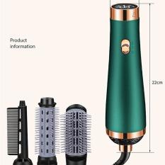 [ KÈM 3 ĐẦU LƯỢC] Máy sấy tóc lược tạo kiểu bằng khí nóng 3 cấp độ, Máy sấy tóc mẫu hot 2020 phong cách mới chăm sóc tóc bằng ion âm, Máy sấy tóc thiết kế lạ độc đáo – Công suất 1000W
