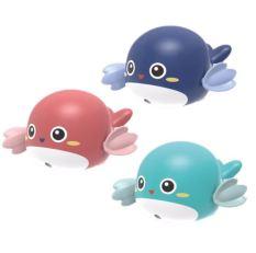 [Siêu rẻ] Cá heo bơi vặn cót vô cùng đáng yêu. Đồ chơi nhà tắm cho bé – Niki Store