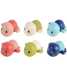 Đồ chơi Rùa bơi vặn cót thả bồn tắm cho bé trai và bé gái, nhiều màu – DC13