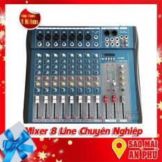 Bộ trộn âm thanh, Mixer 8 Line Yoo-Minh CT-80S/USB chuyên nghiệp.