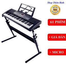 [ TẶNG GIÁ ĐỠ ĐÀN ] ĐÀN PIANO ĐÀN ORGAN ĐIỆN TỬ 61 PHÍM CHO NGƯỜI MỚI HỌC CHƠI