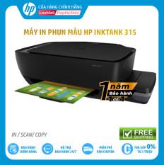[VOUCHER 20% tối đa 300K 27-29/03]Máy In Phun Màut Đa Năng HP Ink Tank 315 (In Copy Scan Đen-Z4B04A) – Hàng Chính Hãng