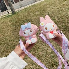 Túi đeo chéo cho bé gái mini ZAKUDO Silicon hình HELLO KITTY dễ thương, ngộ nghĩnh, thời trang phong cách Hàn Quốc TX18