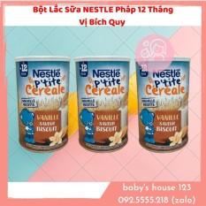 Bột Lắc Sữa Bích Quy Vani Nestle Pháp Cho Bé Từ 12 Tháng – Hộp 400Gr