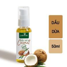 Dầu Dừa PUREVESS ( 50ml ) | Giúp làm mềm da, giữ ẩm cho da và làm dịu kích ứng,