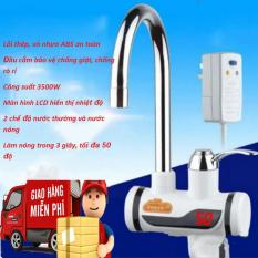 Máy nước nóng trực tiếp tại vòi-Cơ chế làm nóng cực nhanh có nước nóng chỉ sau 3s,chống giật,chống rò rỉ-Sale sốc 50% ,giao hàng toàn quốc bởi May Store.