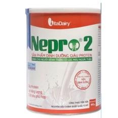 Sữa nepro số 2 900g cho bệnh nhân lọc máu ngoài thận