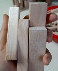 Thanh gỗ Bạch Dương – Combo 50 thanh gỗ Bạch Dương
