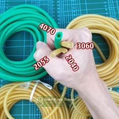 (1 mét) Dây thun cao su tròn ống có lỗ co dãn tập luyện thể thao 4 kích cỡ