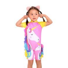 Bộ đồ bơi cho bé gái hình ngựa Pony
