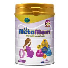 Sữa bột Nutricare MetaMom ít ngọt giảm béo cho bà mẹ mang thai & cho con bú – Hương vani (900g)