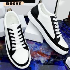 Giày thể thao nam , giày sneaker thể thao trắng viền đen – Rosye thời trang cao cấp