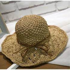 Mũ cói đi biển siêu xinh