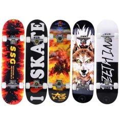 Ván Trượt Skateboard Gỗ Phong 7 Lớp , Mặt Nhám Cao Cấp, Ván Trượt Thể Thao Chuyên Nghiệp