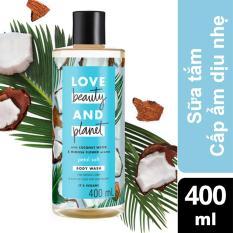 Sữa tắm dịu nhẹ thanh mát Love Beauty And Planet Petal Soft 400ml