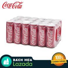 Thùng 24 Lon Nước Giải Khát Coca Cola 330ml