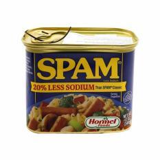 [USA] Thịt Hộp Hormel Spam Less Sodium 340g – Nhập khẩu Mỹ – Date 2021