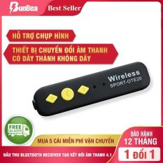 Thiết bị chuyển đổi âm thanh Bluetooth Đầu thu bluetooth receiver tạo kết nối âm thanh 4.1 rảnh tay Wireless Adapter, Thiết Bị Chuyển Đổi Âm Thanh Có Dây Thành Không Dây Bluetooth hỗ trợ chụp hìnhV4.1