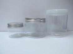 Combo 10 Hộp Hũ Nhựa PET Nắp Nhôm Bạc 500ml Kèm Lót – Đựng Thực Phẩm Đồ Khô Ngũ Cốc