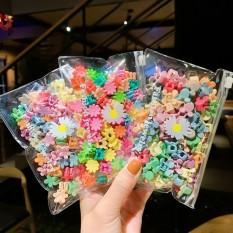 🌺Túi 20/50 kẹp càng cua mini mix nhiều màu xinh xắn dễ thương phong cách Hàn Quốc cho bé yêu