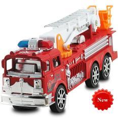 Mô hình Xe cứu hỏa chạy đà