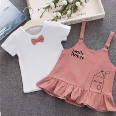 Váy 2 chi tiết cho bé, váy cho bé gái.