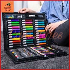 Hộp màu 150 chi tiết, bộ màu vẽ đa năng 150 màu, hộp bút chì màu, bút vẽ bộ màu vẽ đa năng cho bé