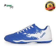 Giày đá bóng sân cỏ nhân tạo Kamito QH19 Premium Pack, đinh dăm, bám sân tốt, full box, màu xanh phối trắng đủ size – giày đá bóng nam – giày đá banh – giay da bong nam