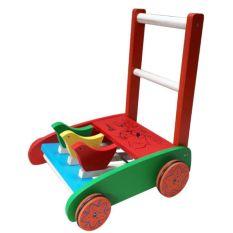 Xe gà tập đi bằng gỗ cho bé ( Hiệu em bé vàng )