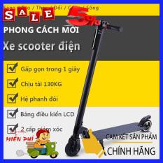 XE SCOOTER ĐIỆN, HỆ THỐNG PHANH CÔNG NGHỆ E-ABS, 30KM/1 LẦN SẠC